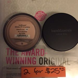 Bare Mineral Foundation MEDIUM